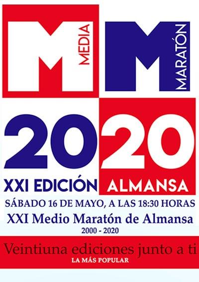 Media Maratón Almansa 2020