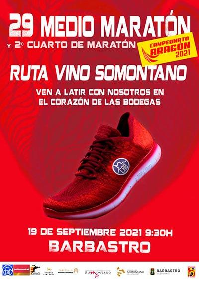 Media Maratón Barbastro Ruta del Vino Somontano