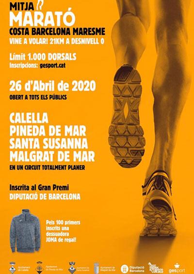 Media Maratón Costa de Barcelona Maresme 2020
