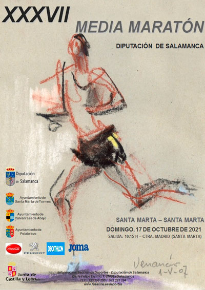 Media Maratón Diputación de Salamanca