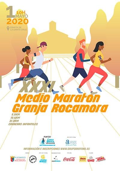 Media Maratón Granja de Rocamora 2020