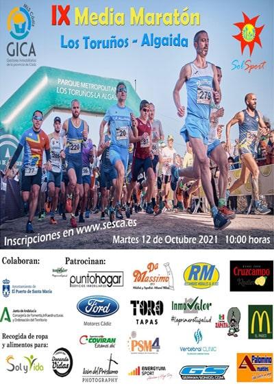 Media Maratón Toruños Algaida