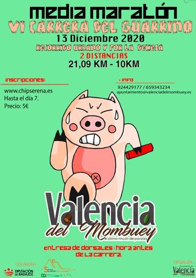 Media Maratón Valencia del Mombuey