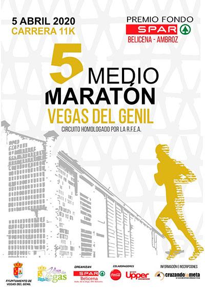 Media Maratón Vegas del Genil 2020