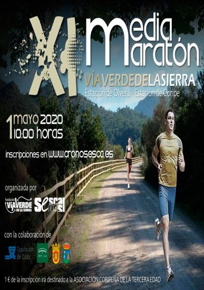 Media Maratón Vía Verde de la Sierra 2020