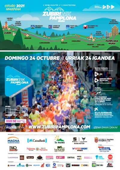 Media Maratón Zubiri Pamplona